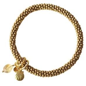 Jacky bracelet Citrine shell