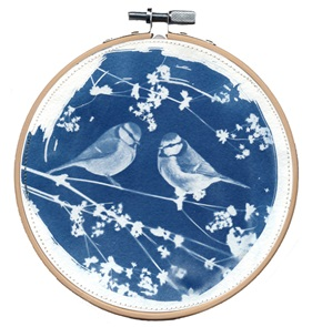 SOLD Blue bird M Artwork J