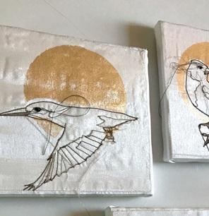 Kunstwerkje Birds L