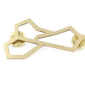 MetriQ Broche 5 gold