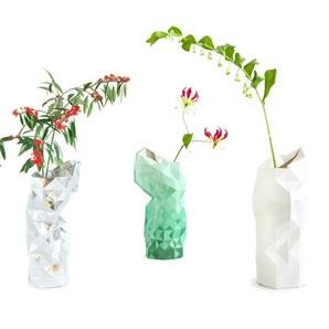 Paper Vase zilver*