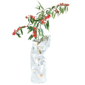Paper Vase silver*