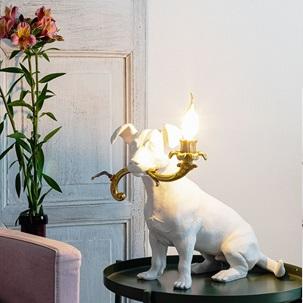 Rio lamp dog