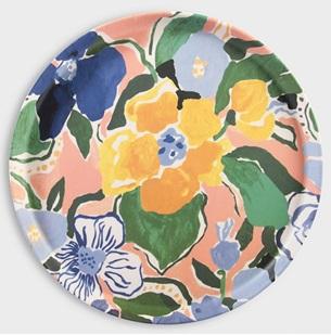Dienblad Magaret Floral