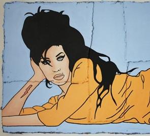 Kunstwerk Amy Winehouse