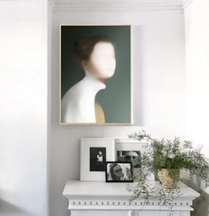 Art print Portrait U