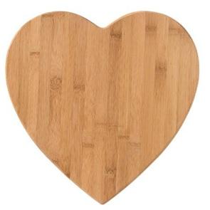 Heart wooden board