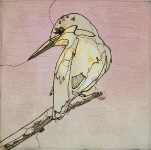 VERKOCHT Kunstwerkje Birds C