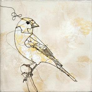 VERKOCHT Kunstwerkje Birds I