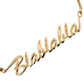 Blablabla Necklace