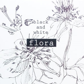 Black&White Flora set of 10