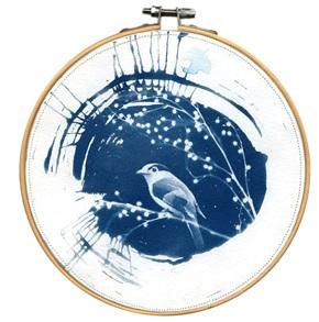 Blue bird L 10 Kunstwerkje