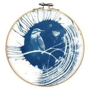 Blue bird L 11 Kunstwerkje