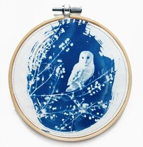 Blue bird M 12 Kunstwerkje