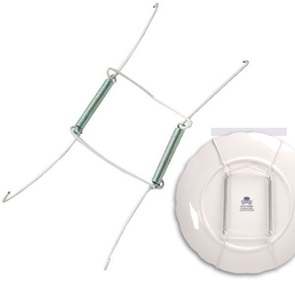 Plate hanger wire