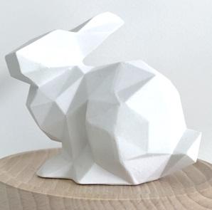 Porseleinen bunny white