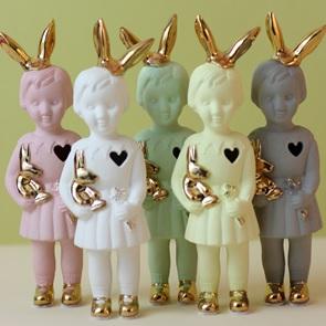 popje Bunny Lichtgroen