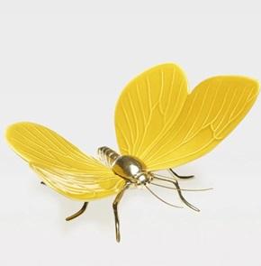 Vlinder Geel