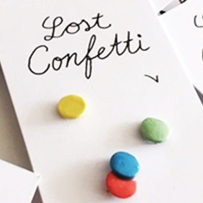 Lost confetti broches*