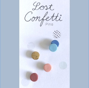 Lost confetti A special broches*