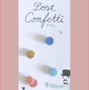 Lost confetti special broches*
