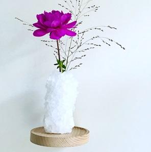 Crystal vase Pure