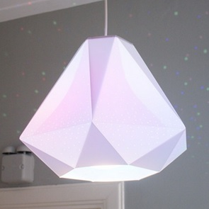 Diamond celinglamp