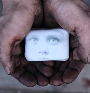Kunstwerk Eye contact