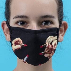 Face mask Lipstick S/M