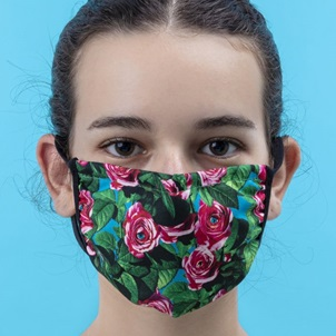Face mask Roses S/M