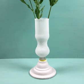 Sweet concrete vase Fanta