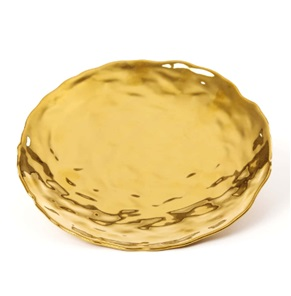 Fingers plate gold