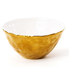 Fingers bowl gold
