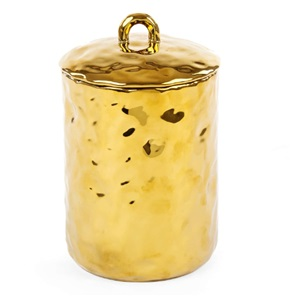 Fingers jar gold