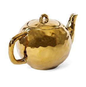 Fingers teapot gold