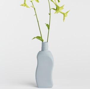 Bottle Vase # 12 lavender