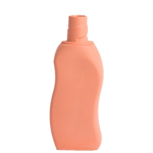 Bottle Vase # 12 salmon