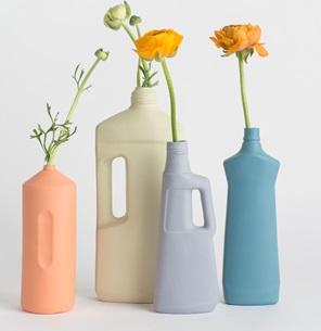 Bottle Vase #1 Donker Blauw