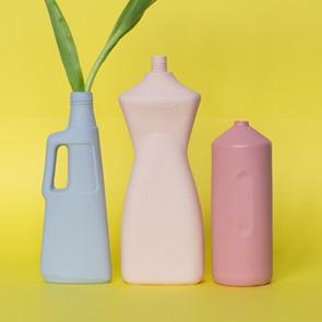 Bottle Vase #2 Old red