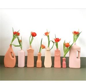 Bottle Vase #3 Pink
