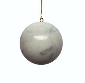 Galaxy globe L white
