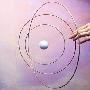 Galaxy globe L wit