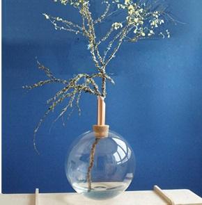 Glasilium vase 20 cm