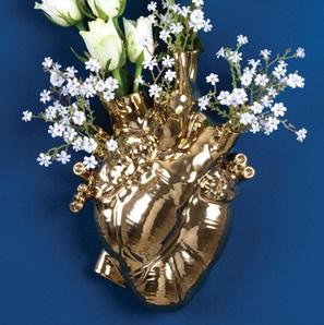 Love in Bloom vaas goud