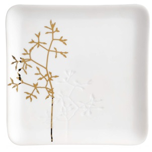 Golden twig dish