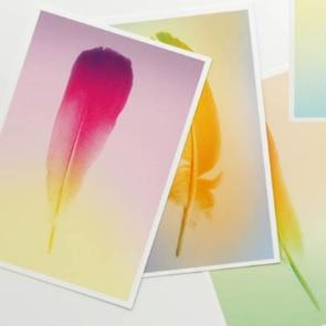 Set van 5 gradient Veer kaarten*