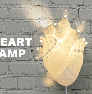 Heart lamp