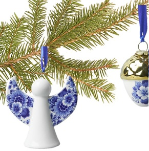 Delft Blue Pendant Angel