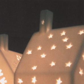 Huisje sterren