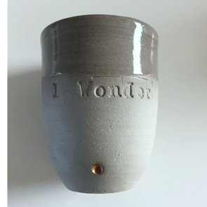 Quote cup grey S